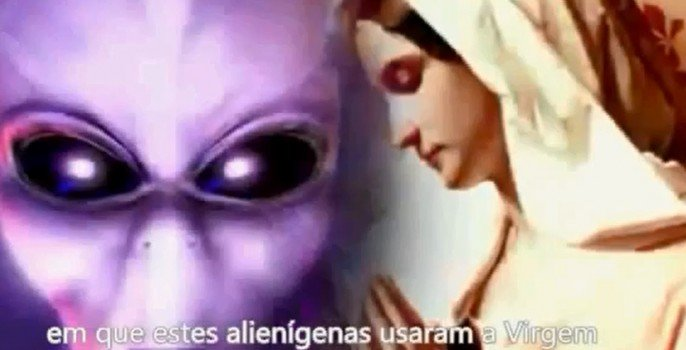 alien virgem