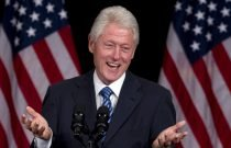 It may be in former President Bill Clinton's (and his wife's) interest to help keep the Democratic party together for the next convention.